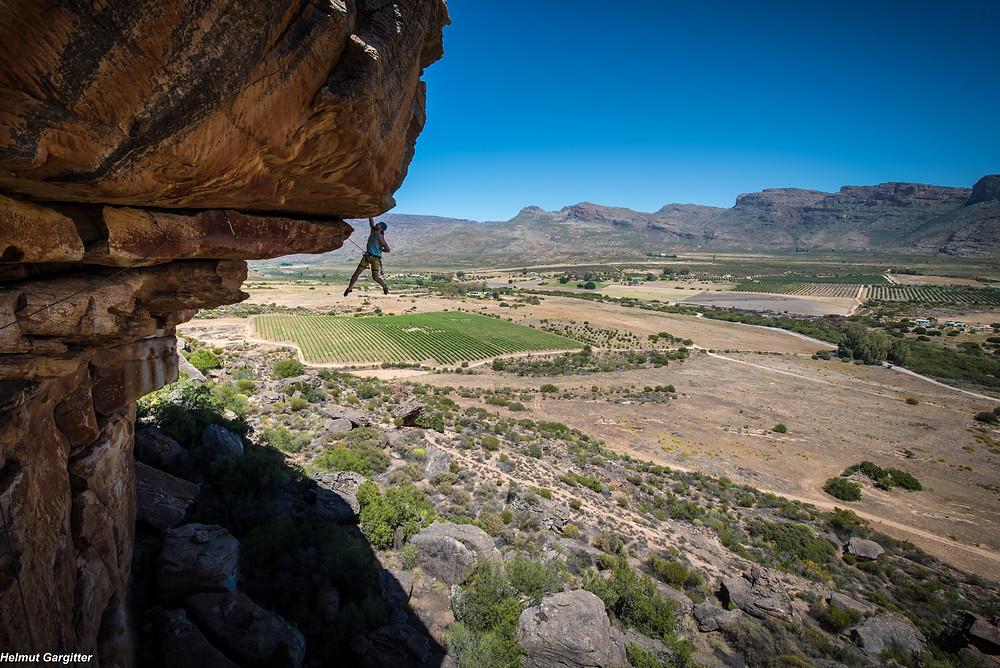 Südafrika Klettern Reise Rocklands Sportklettern Bouldern