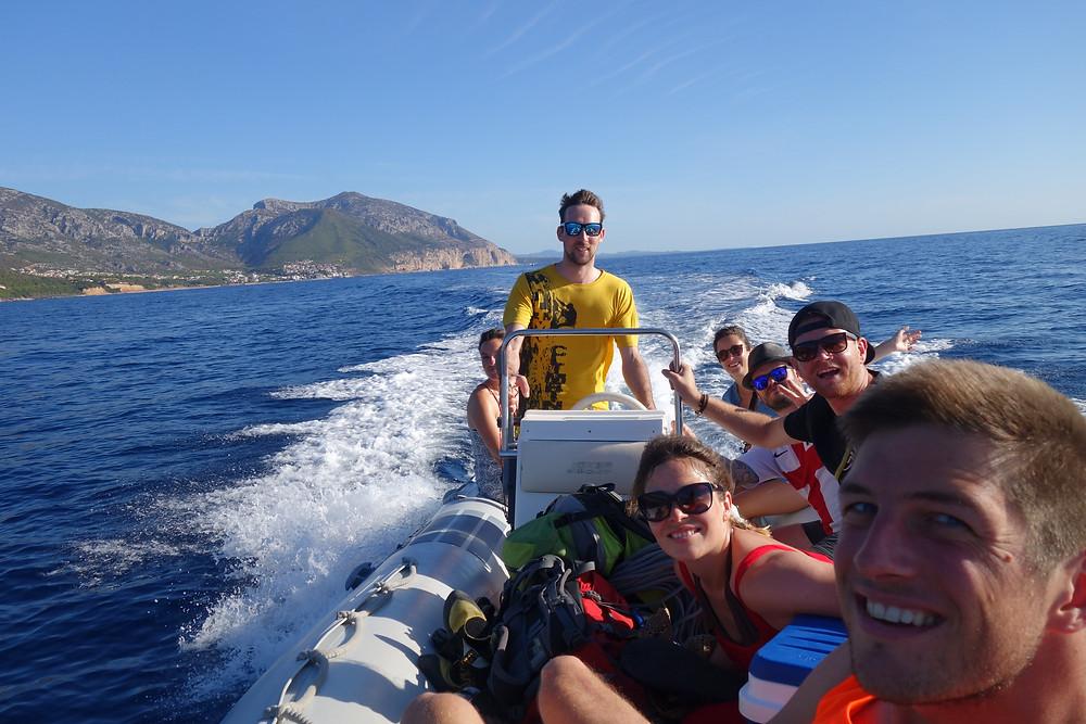 Sardinien Alpinklettern Sportklettern Goloritze Easy Gymnopedie