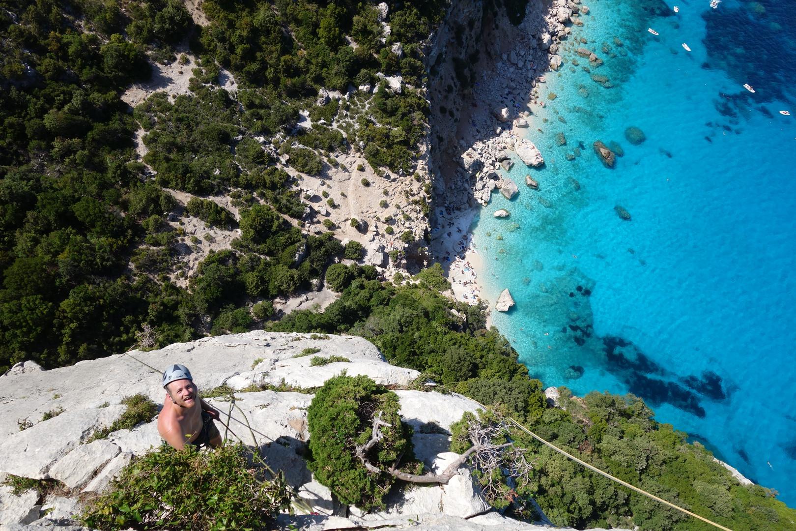 Klettern Sardinien