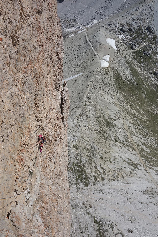 Preußturm Cassin 3 Zinnen Alpinklettern
