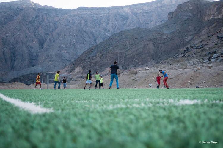 Fussball im Oman