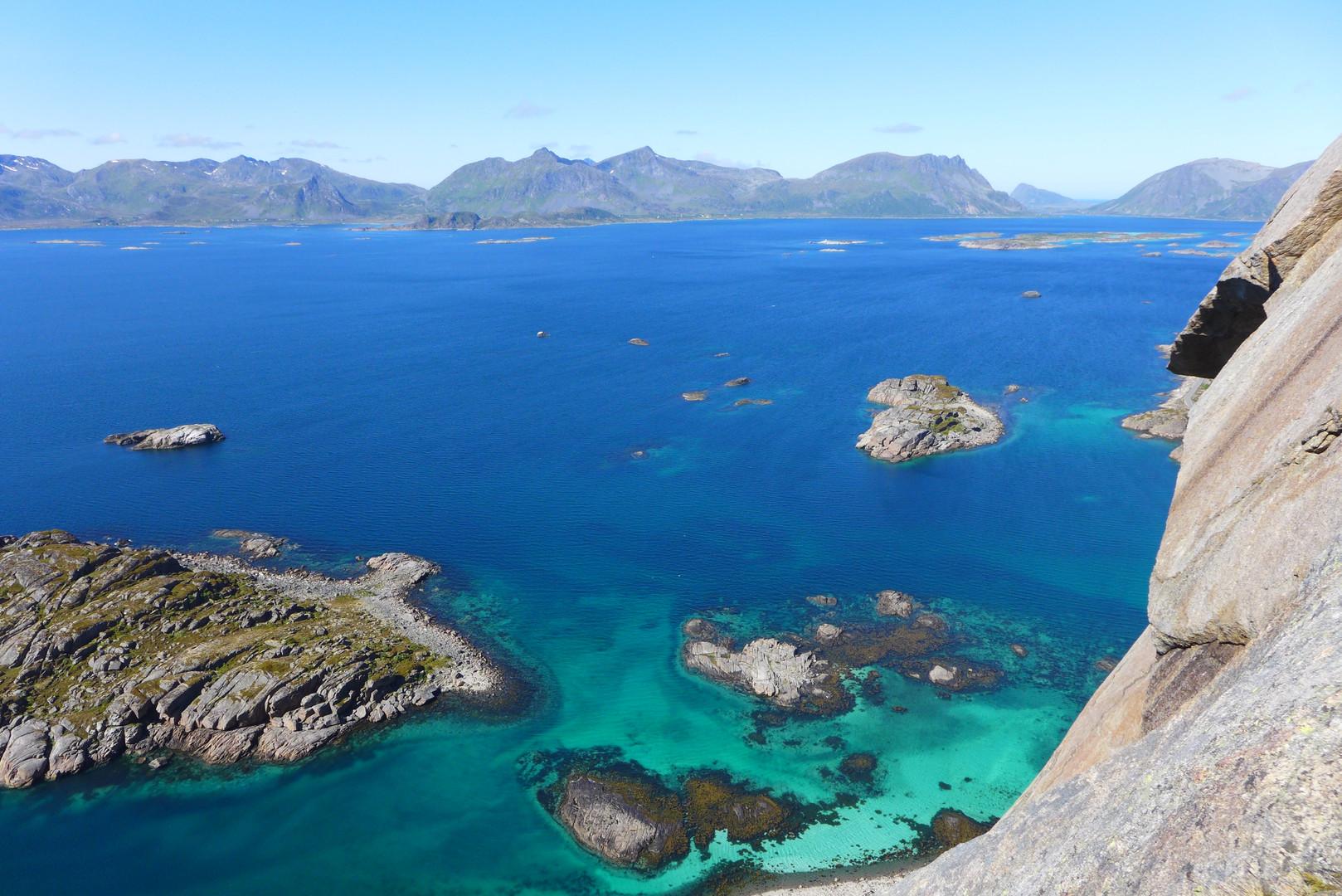 Klettern auf den Lofoten