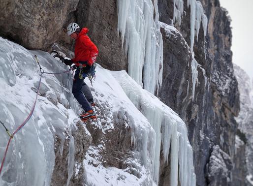 Eisklettern in Südtirol