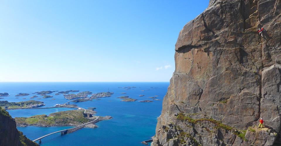 Klettern im Paradies