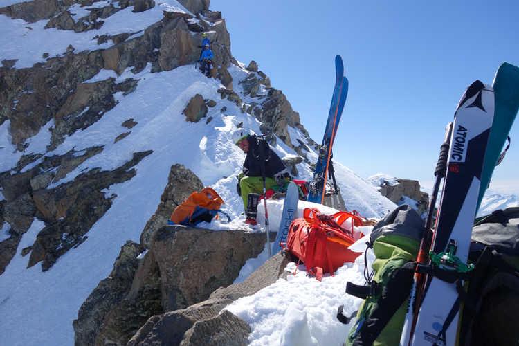 Gipfelgrat Monte Disgrazia