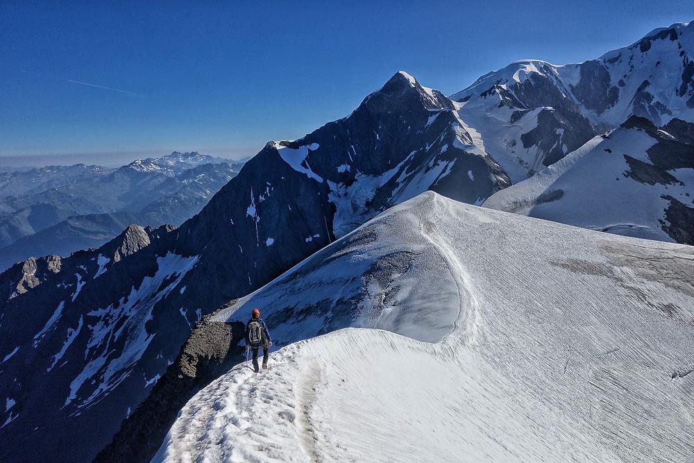 Mont Blanc Royal Traverse Hochtour Chamonix Aiguille du Bionnissay Domes du Miage