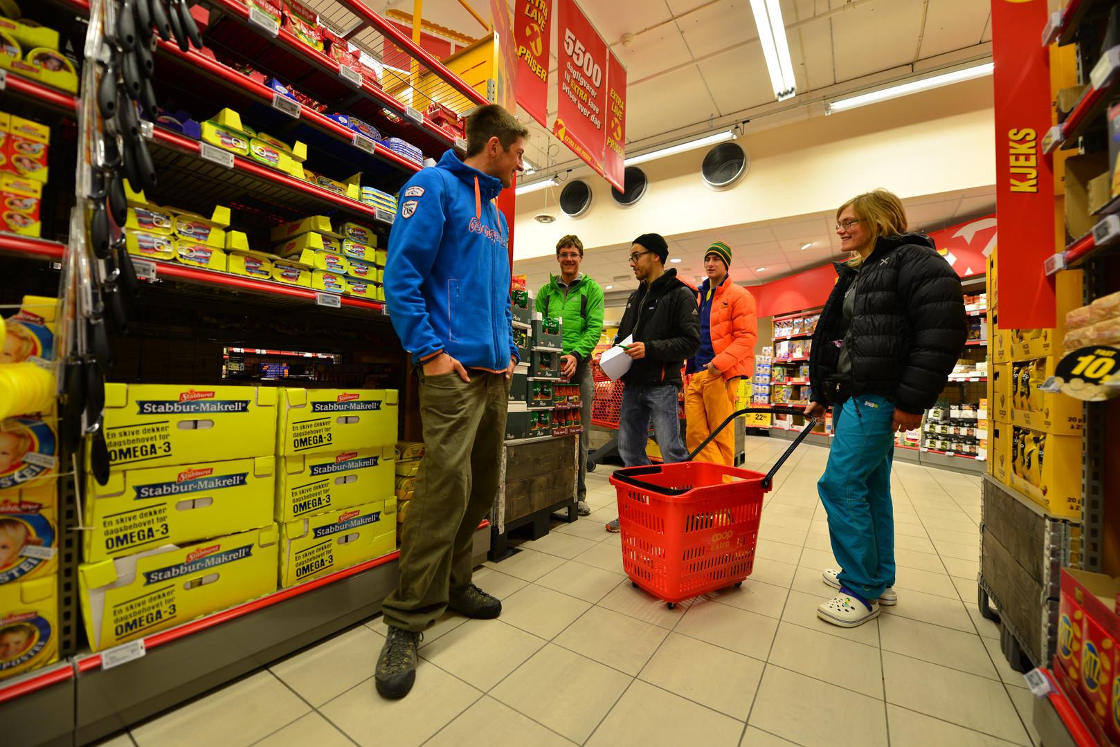 Einkaufen in Norwegen