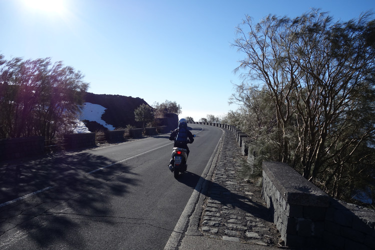 Richtung Rifugio Sapienza
