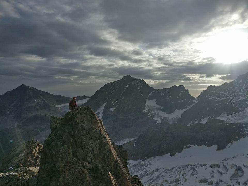 Piz Roseg Eselsgrat Bernina