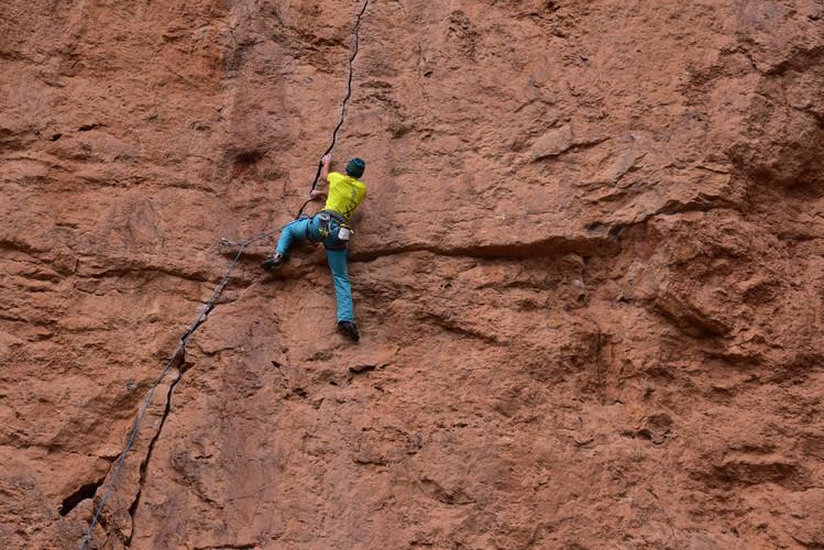 Klettern in Taghia