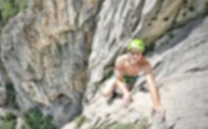 Paclenika Klettern Kroatien