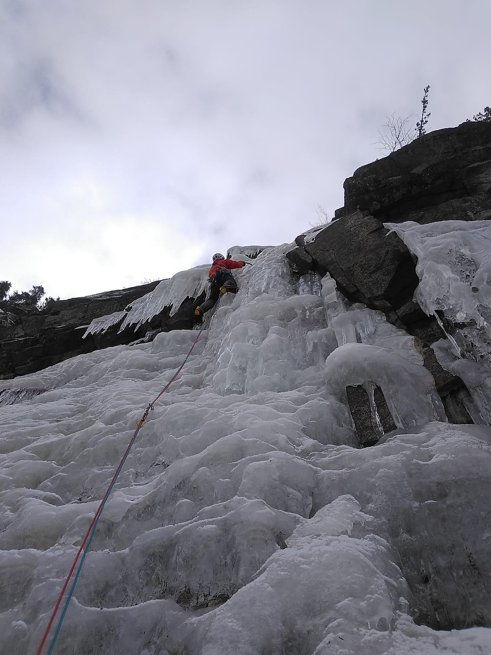 Eisklettern Rein in Taufers Eiskaffee