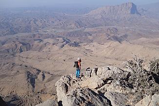 Klettern im Oman