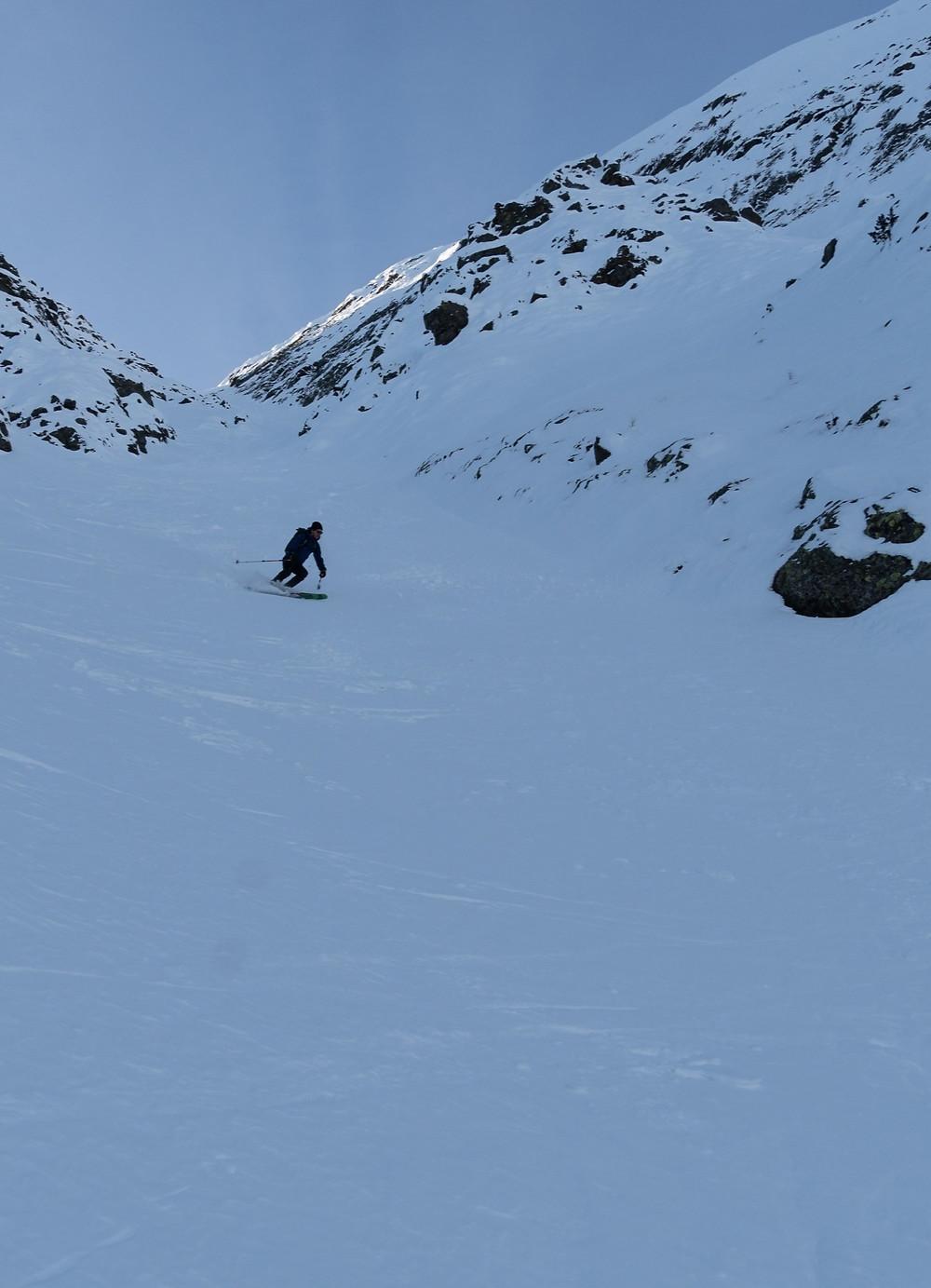 Skitour, Schneelahnspitze, Schneelahngraben