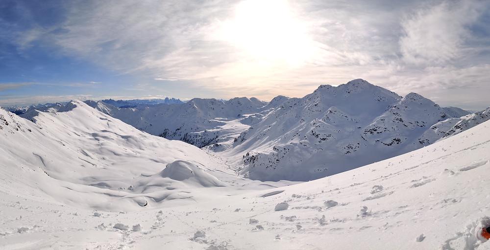 Skitour Tagewaldhorn Rinne Nordostrinne Sarntaler Alpen