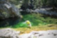 Canyoning Korsika