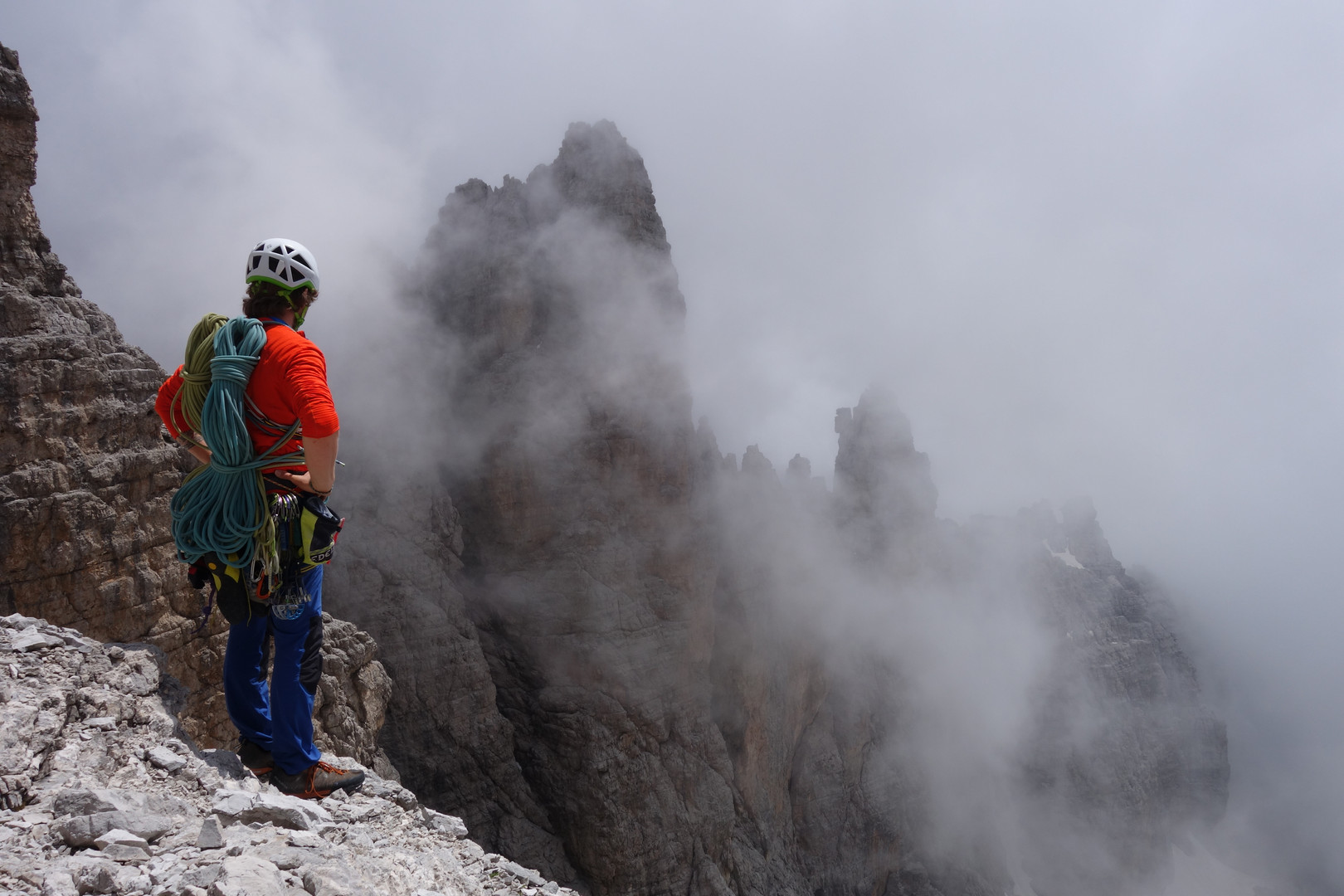 Alpinklettern Brenta