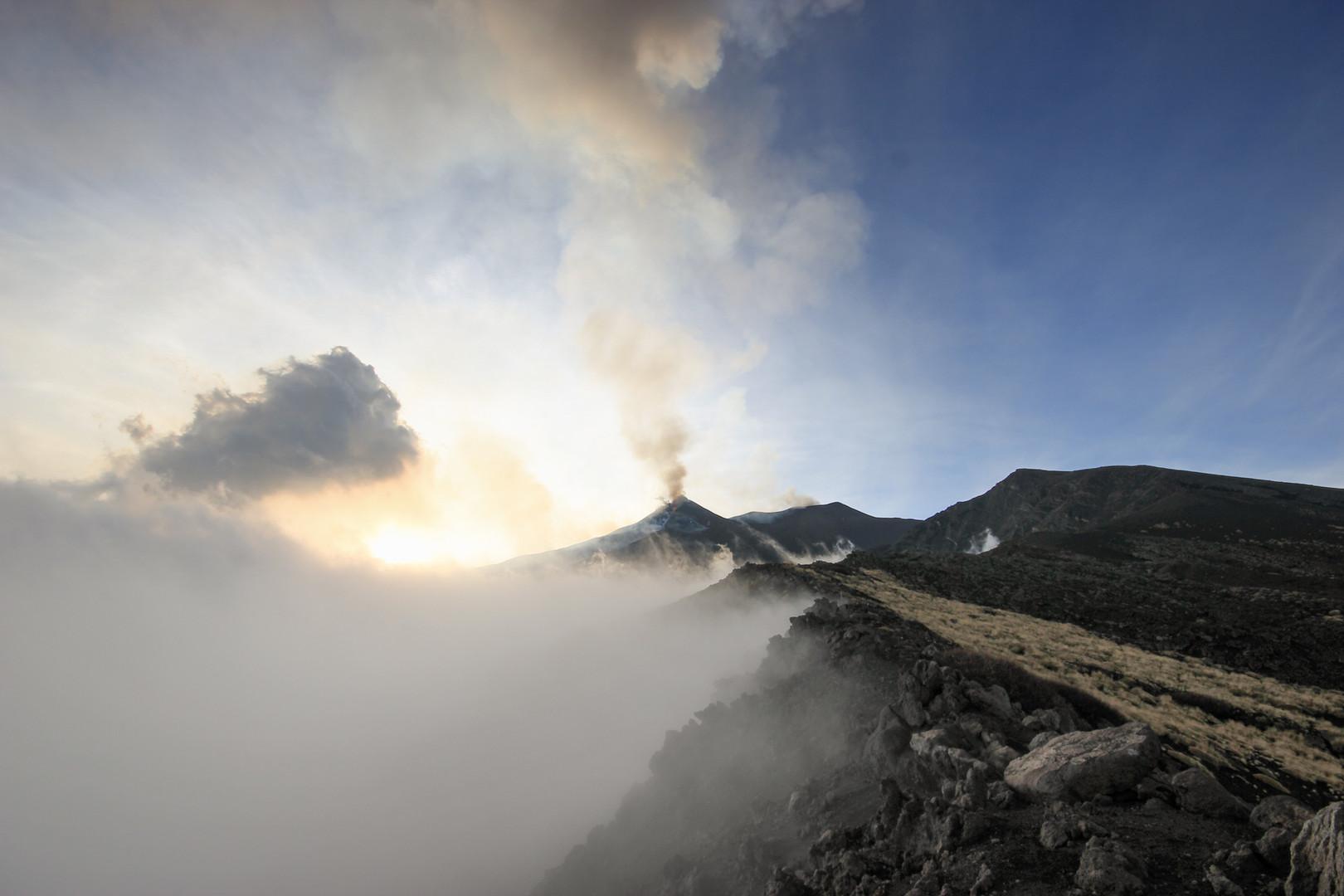 Wunderschöne Vulkanlandschaften