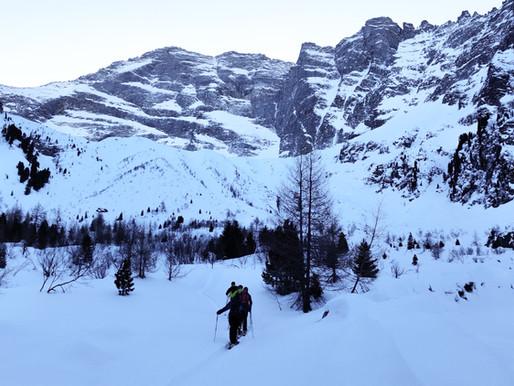 Alpeiner Scharte - Skitour