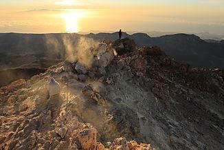 Sonnenaufgang Pico del Teide