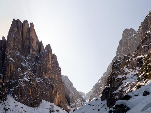 Seiser Klamm - Skitour