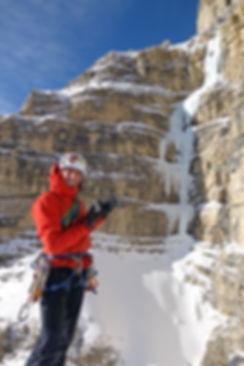 Eisklettern Südtirol Dolomiten La Piera
