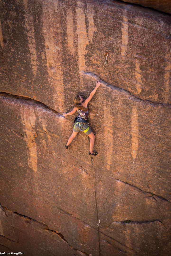 Klettern in Südafrika