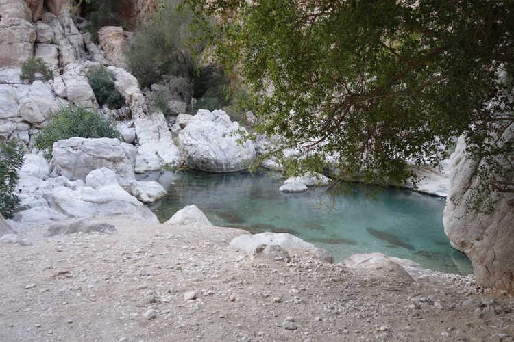 Traumhafte Wadis überall im Hadjargebirge