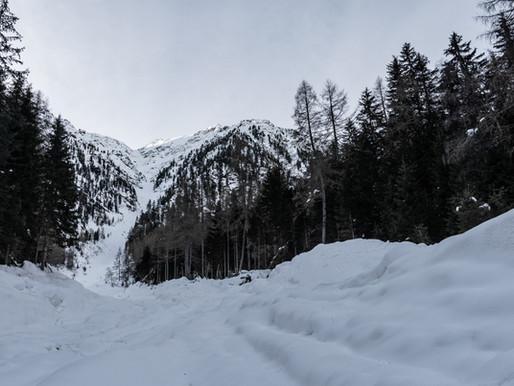 Schneelahnspitze - Skitour