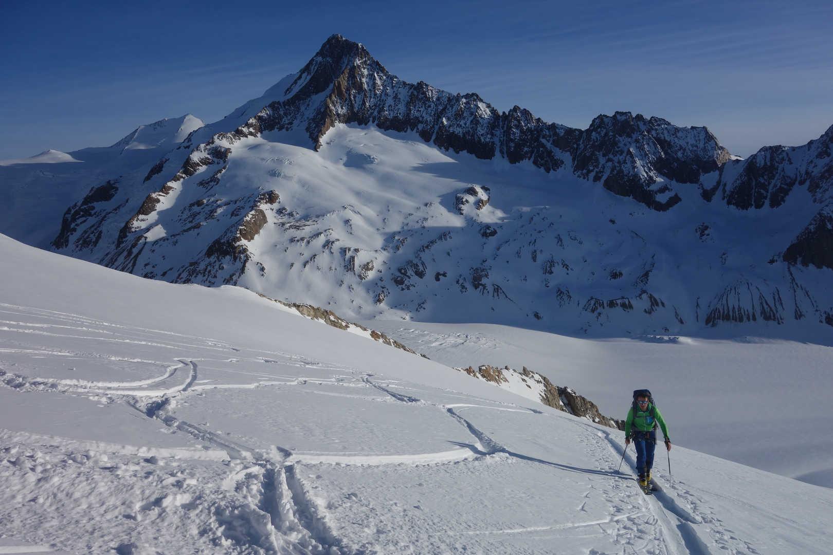 Aufstieg zum Großwannenhorn