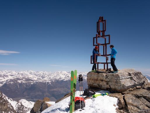 Vertainspitze und Hoher Angelus - Skitour