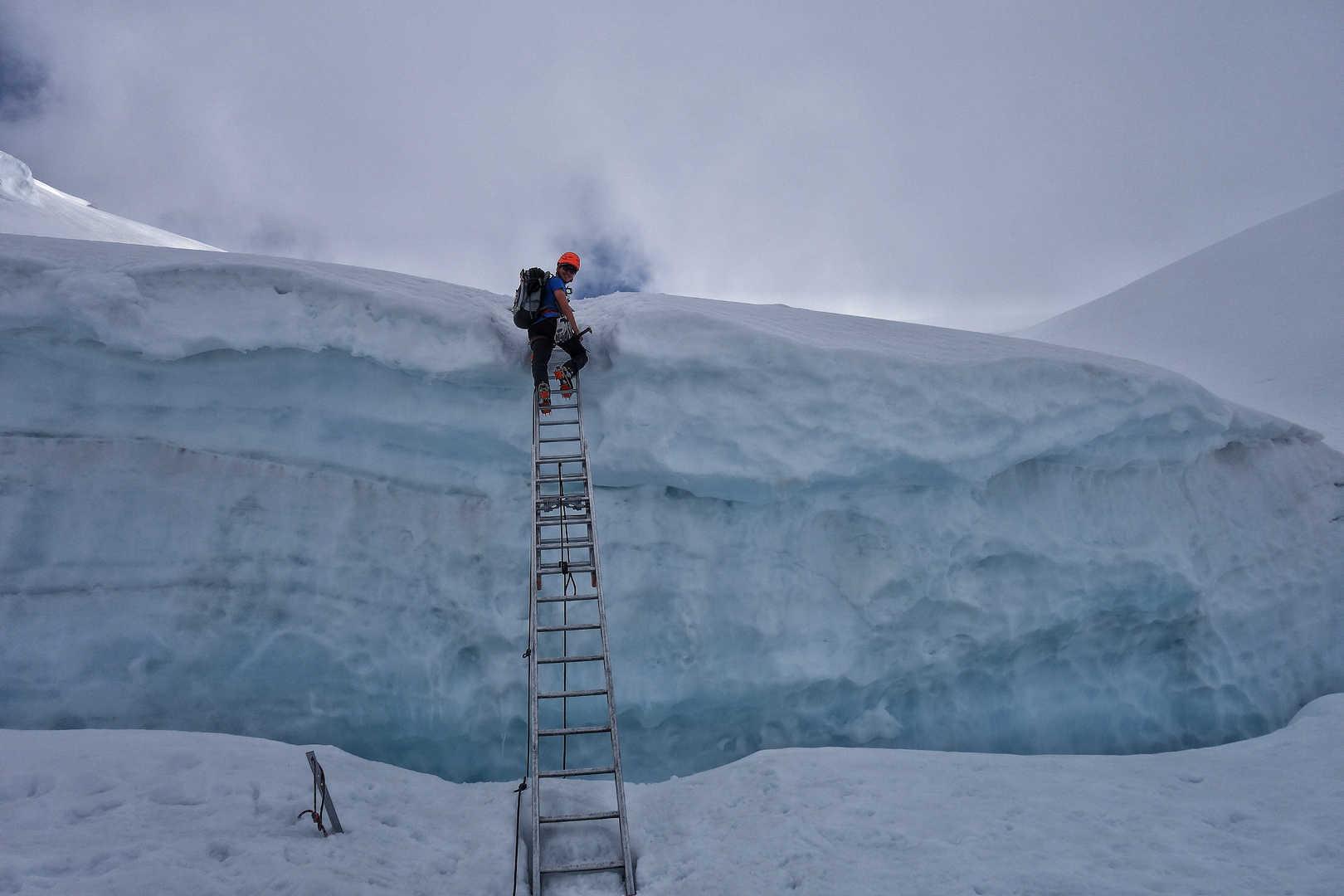 Am Mont Blanc du Tacul