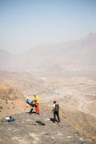 Zelten ist überall erlaubt im Oman