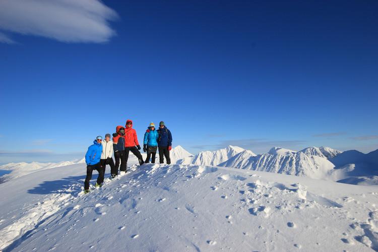 Erster Gipfel