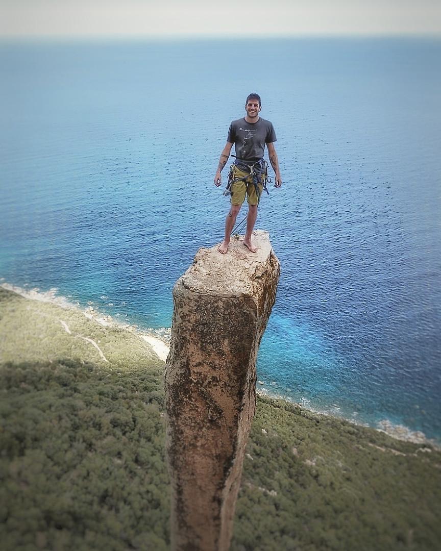 Klettern Sardinien Jurassic Park