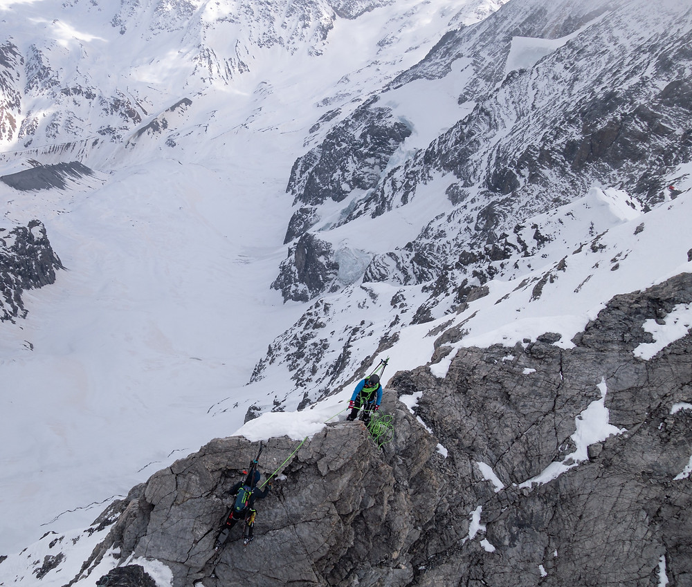 Skitour, Ortler, Schückrinne, Hochjochgrat, Hochjochbiwak