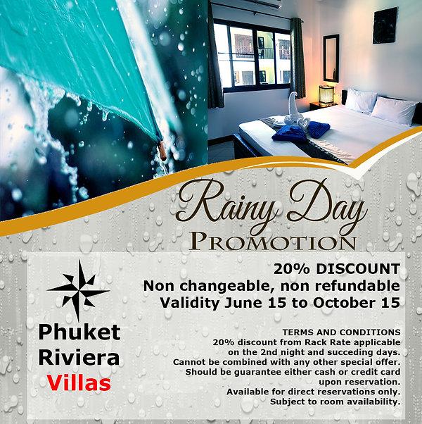 Rainy Days promotion