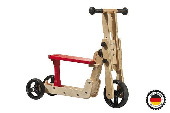 Scooter Rojo 2 en 1