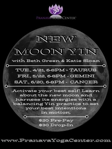 New Moon Yin Class