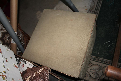 Foot stool with fabric