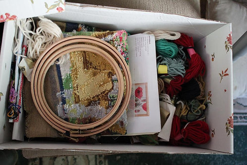 Embroidery material sold