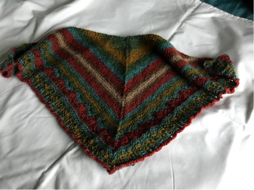 Multicolour Shoulder Shawl