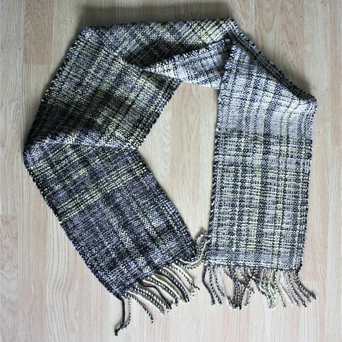 Hand spun woollen scarf SOLD