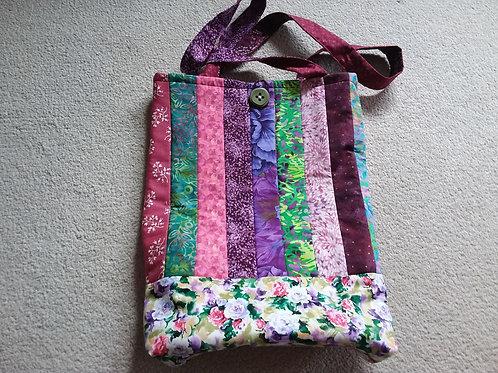 "Patchwork bag 15 x 18"" SOLD"