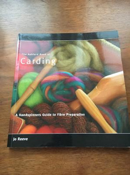 Book - Carding sold