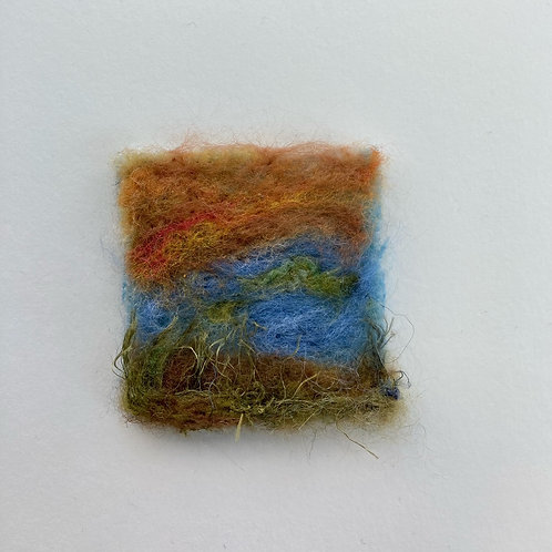 Felted miniatures
