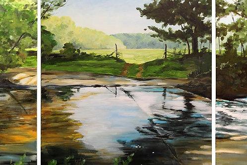 Ten Mile Creek Triptych