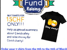 Buy a shirt, support a Covid charity!
