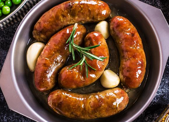 Sweet Smokey Brisket Sausages - 6 pack