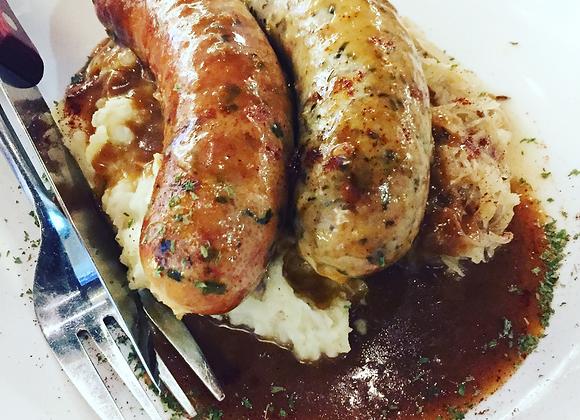 Pork and Fennel Sausages - 6 pack